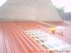 Blechdachverlegung durch die Hier entsteht eine Blechdach-Unterkonstruktion durch die Zimmerei & Dachdeckerei Oliver Frank aus Viereth bei Bamberg
