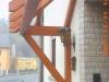 Der Bau eines Vordaches ausgeführt durch die Zimmerei & Dachdeckerei Oliver Frank in Viereth bei Bamberg